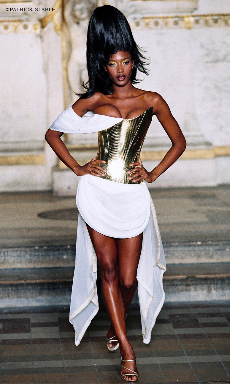 Hubert Barrere corset for Givenchy Haute Couture by Alexander Mc Queen